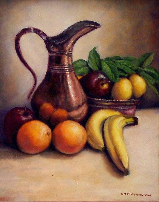 Fruit and Pitcher