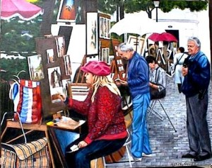 Artists of Monte Martre